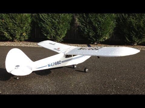 Hobbyzone Super Cub LP RTF Trainer Plane Sunny Day Flight With No Crash!