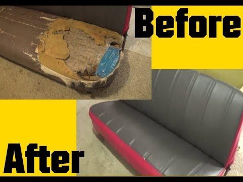 Bench Seat Foam/Upholstery Restoration 1963 F100 Truck
