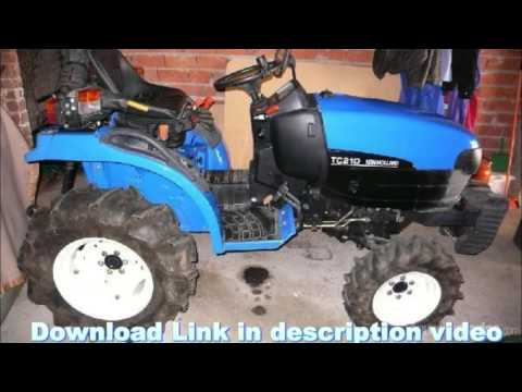 New Holland Tc21 3 Cylinder Tractor Parts Pdf Manual Cat Excavator