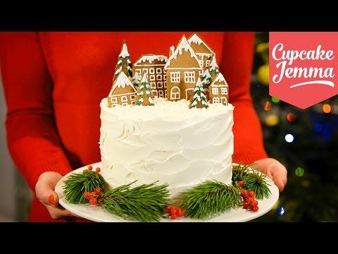 Alternative Double Chocolate Forest Fruit Christmas Cake recipe   Cupcake Jemma
