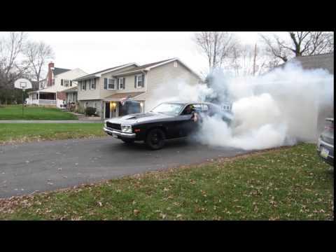Mopar 408 stroker Burnout