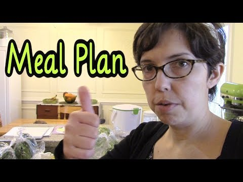 Monday Meal Plan #3 (and Grocery Haul)
