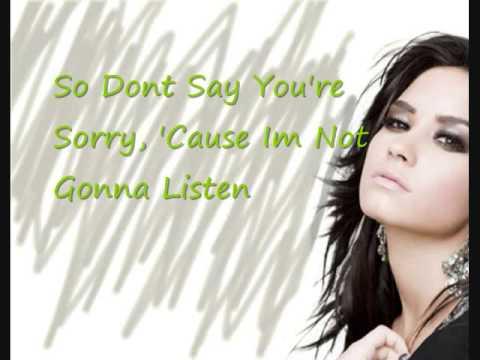 Demi Lovato - Every Time You Lie