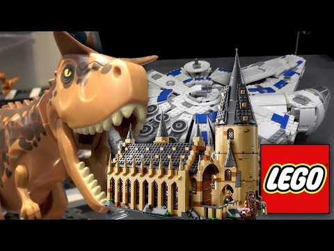 All New LEGO - Star Wars, Jurassic World Indoraptor Rampage, Hogwarts, Minifigures Series 18