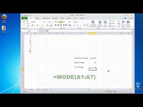 How to Calculate the Average in Excel