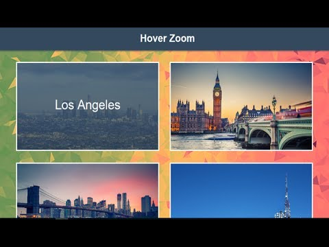 Mouse Hover Zoom Effect Using Css, Hover Transition Effect, Hover Image Css, Cursor Move