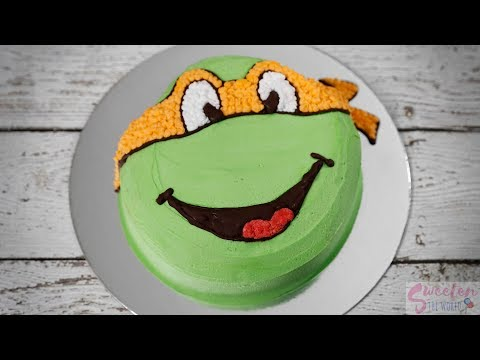 Really Fast Way For A Ninja Turtle Cake