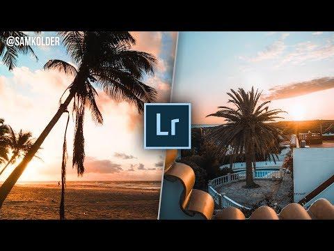 How To Edit Like SAM KOLDER Instagram | Teal and Orange | LIGHTROOM COLOURGRADE TUTORIAL