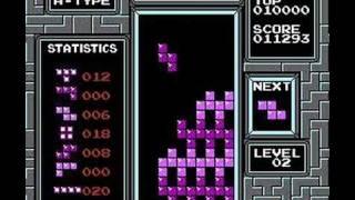 A bored god plays Tetris