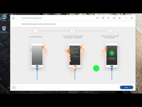 How to Unlock Samsung Galaxy note8 if Forgot Password ?