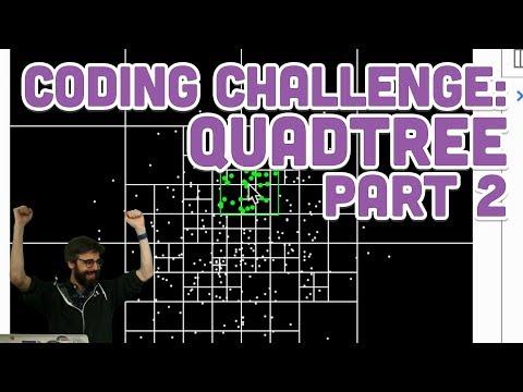 Coding Challenge #98.2: Quadtree - Part 2