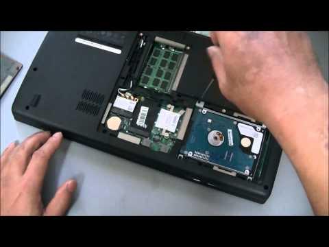 Dell Studio 1558 ■ Remove Hard Drive