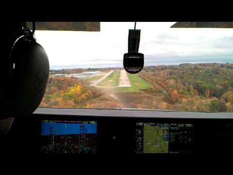 Landing 10 BVI in a T182T