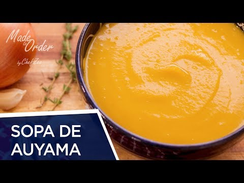 Sopa de Auyama Dominicana | Butternut Squash Soup | Made To Order | Chef Zee Cooks