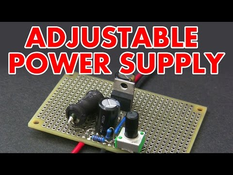 Adjustable switch mode power supply tutorial