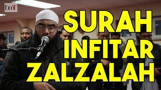 Surah Infitar & Zalzalah With English Translation | Muhammad Yahya