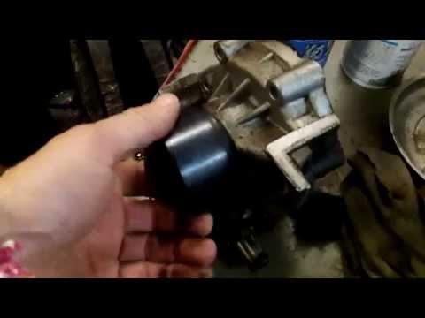 Symptoms of a bad water pump (Subaru)