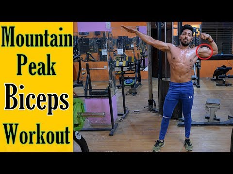 Mountain Peak Biceps Workout | Top 5 Biceps Exercise for Mass/Size