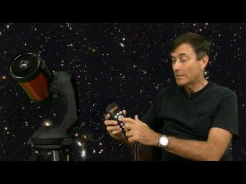 Aligning the NexStar telescope with Auto 2 Star method