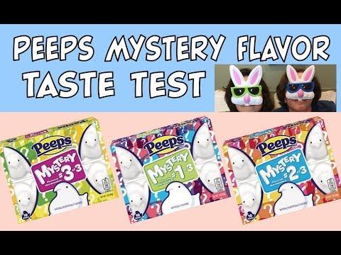 What's Inside the Peeps Mystery Flavors? | Taste Test