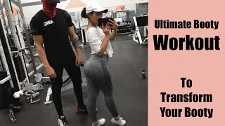 The Ultimate Booty Workout to Grow A Butt / Personal Training My Client / Her Booty Transformation