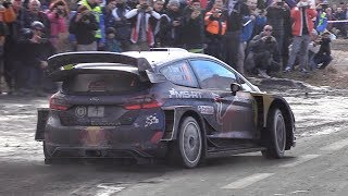 WRC Rally Monte Carlo 2018: Saturday Action - Maximum Attack, Speed, Sliding & More!