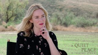A Quiet Place (2018) - Emily Blunt Interview - Paramount Pictures