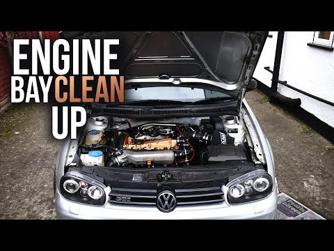 Making My Engine Bay Cleaner