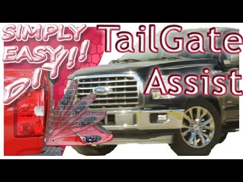 How To Install TailGate Assist Ford F150 - Dee Zee
