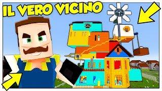 ABBIAMO RAPINATO LA CASA DI HELLO NEIGHBOR! - Minecraft ITA