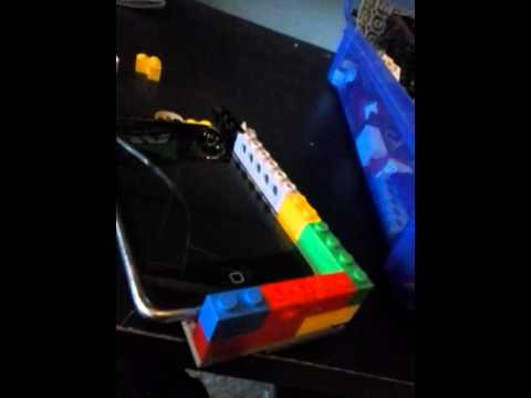 How to make lego ipod case