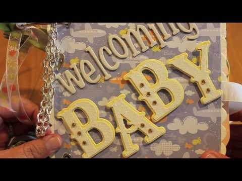 Diy Baby Shower Scrapbook Decorating Ideas Baby Shower Scrapbook Pages