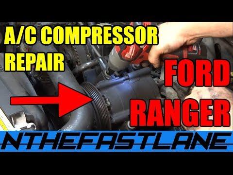 A/C System Repair Ford Ranger & Mazda B-series