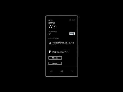 Windows Phone 8.1 WiFi connectivity problem