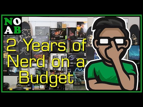 ✌️ TWO Years of Nerd on a Budget