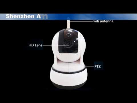 2017 Special Offer Newest Indoor Ptz IP Camera WiFi ONVIF P2P IP Camera
