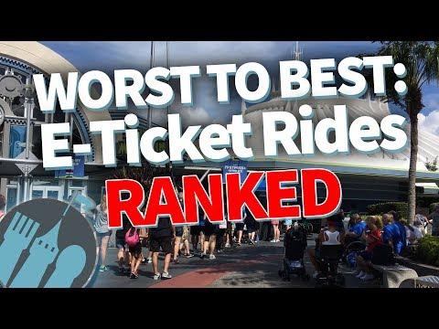WORST TO BEST: 18 Popular Disney World Rides RANKED!
