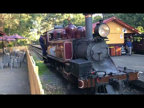 Day out with Dan at Lakeside Railway Station, Emerald Victoria
