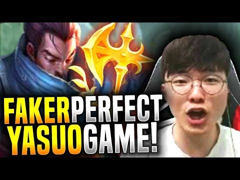 Faker Makes the Perfect Game with Yasuo! - SKT T1 Faker Picks Yasuo Mid! | SKT T1 REPLAYS