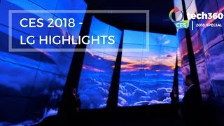 CES 2018 - LG HIGHLIGHTS