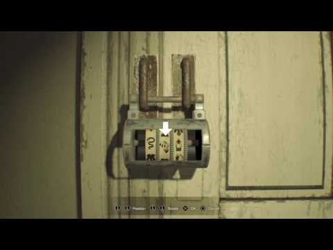 Resident Evil 7 Banned Footage Lock Code