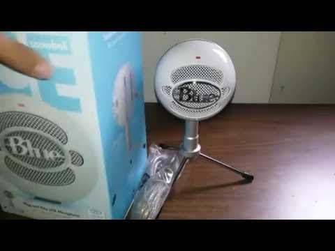 Blue Snowball unboxing !!