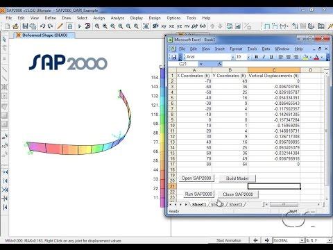 SAP2000 - 25 Open Application Programming Interface: Watch & Learn