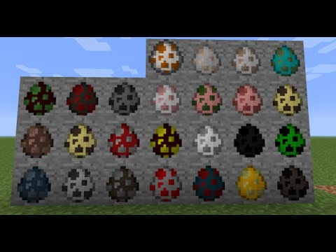 Tutorial:How to get spawn eggs in Minecraft Pocket Editon 0.13.0+ in survival