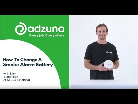 How to Change a Smoke Alarm Battery - #worksmarter