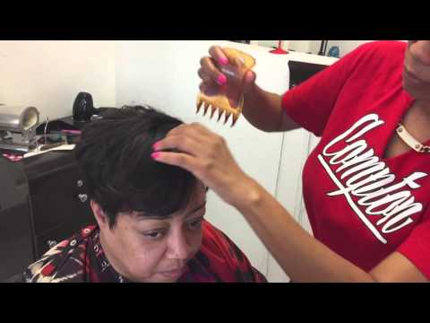 HAIR ESCAPADES How to cut and style a top piece