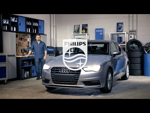 How to replace headlight bulbs on your Audi A3 - Philips automotive lighting