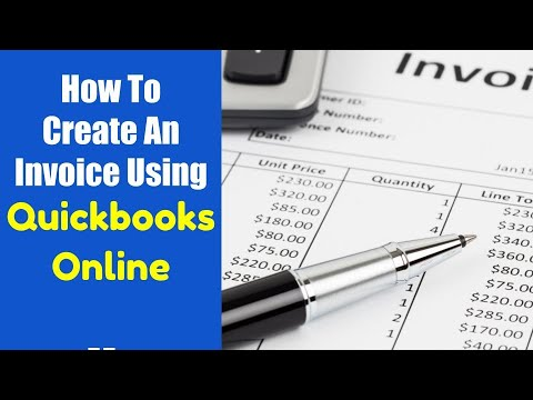 How To Create An Invoice QuickBooks Online