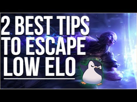 2 BEST TIPS To Get Out Of Silver/Bronze Fast (And will Make You better at League of Legends)