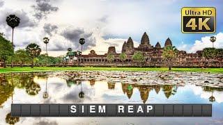 DIY Budget Travel (4K) - Siem Reap: Angkor Wat, Bayon & Ta Prohm Temple, War Museum and more